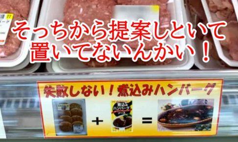 煮込みハンバーグ